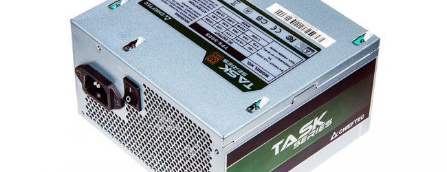 Обзор и тестирование блока питания Chieftec TPS 500s