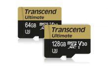 Карты памяти Transcend microSD Ultimate UHS Video Speed Class 30 (V30) с функцией поддержки Ultra HD 4K.