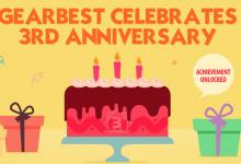 Компания Gearbest отмечает день рождения