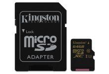 Gold microSD UHS-I Speed Class 3 (U3)