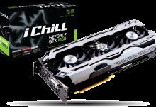 Видеокарты Inno3D iChill GeForce GTX 1080 и Inno3D iChill GeForce GTX 1060.
