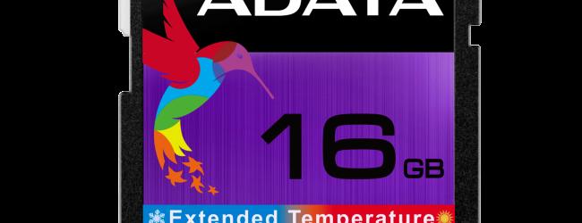 ADATA выпустила SD карты памяти промышленного стандарта — ISDD361