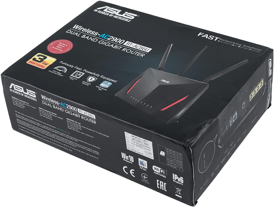 Обзор игрового роутера ASUS RT-AC86U (Wireless-AC2900) — IT Writer